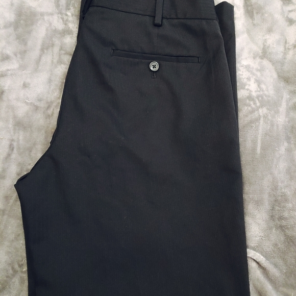 Van Heusen men's black dress pants